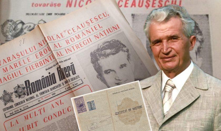 Detaliul neștiut din certificatul de naștere al lui Ceaușescu. Puțini români au aflat asta