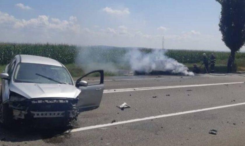 Șoselele morții în România. Doi șoferi au pierdut controlul volanului. Câte victime au ajuns la spital