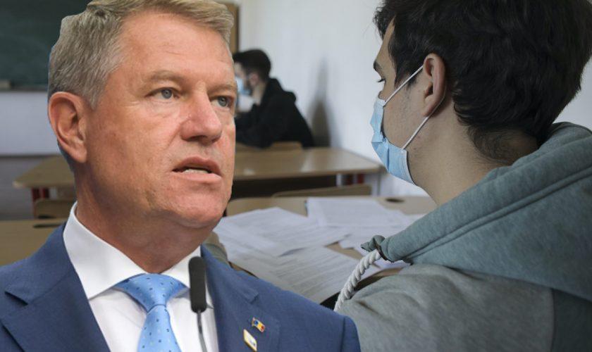 """Klaus Iohannis, anunț important despre noua structură a Bacalaureatului: """"Nu mai putem continua așa"""""""