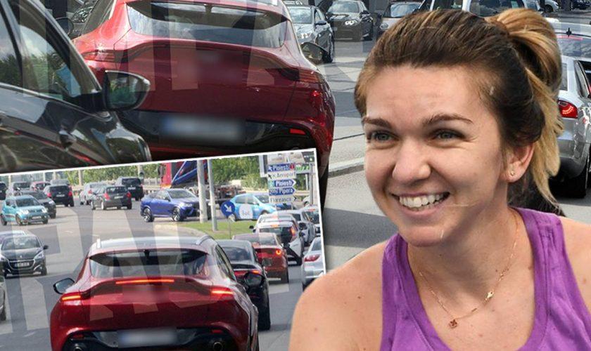 Simona Halep, aroganţă extremă. Ce bolid unic în România şi-a cumpărat. Toţi şoferii s-au uitat uluiţi la ea în trafic Foto EXCLUSIV