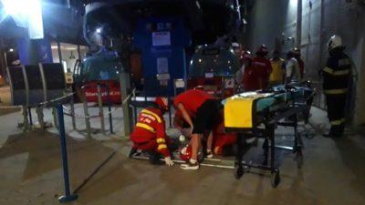 Panică uriașă pe litoral. Telegondola din Mamaia s-a blocat din cauza unei pene de curent. Peste 100 de turiști au rămas suspendați