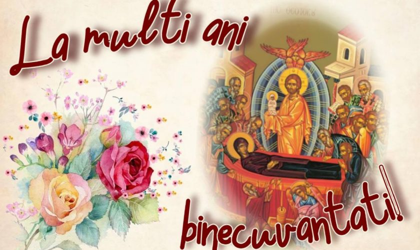 Cele mai frumoase urări virtuale în imagini de la mulți ani de Sfânta Maria. Colaje FOTO
