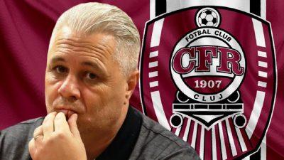 Decizie finală în legătură cu postul lui Marius Șumudică la CFR Cluj. Ce spune conducerea clubului despre demiterea lui