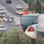 Momentul în care o mașină de 300.000 de euro rămâne fără benzină în Mamaia. Imaginile au devenit virale