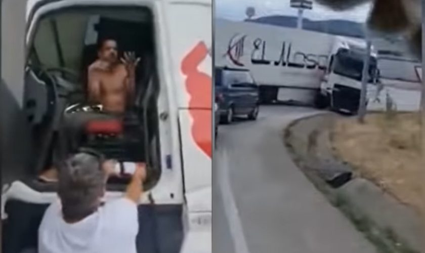 Un bărbat român, erou în Spania. Cum a reușit să oprească din mers un camion condus de un șofer beat