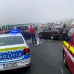 Ultima oră! Accident în lanț pe Autostrada Soarelui. Traficul se desfășoară îngreunat