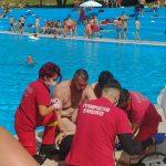 O femeie aflată în vacanță la Ocna Sibiului, în comă după un incident la piscina hotelului. Ce s-a întâmplat acolo