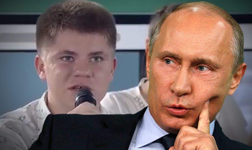 Ce a păţit elevul care l-a corectat pe Vladimir Putin în timpul unui discurs. Chiar a doua zi s-a întâmplat