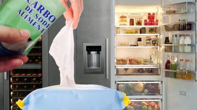 Ce se întâmplă, de fapt, dacă pui un șervețel umed în frigider și torni puțin bicarbonat de sodiu peste el