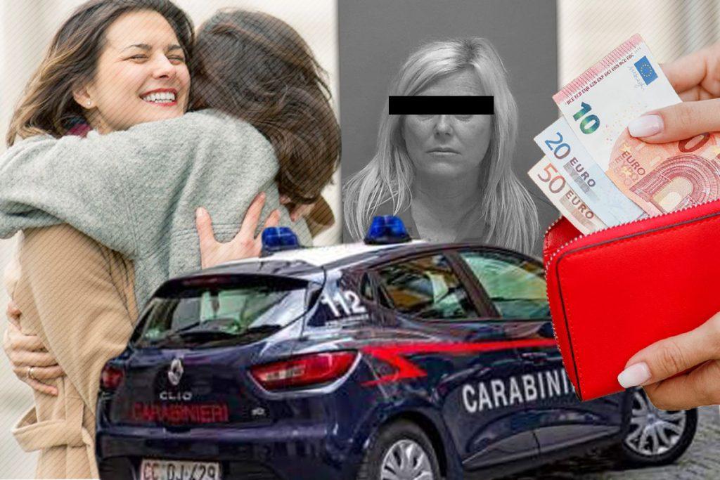 Două românce din Italia au fost arestate. Jefuiau oamenii prin 'metoda îmbrățișării'