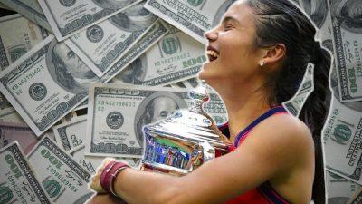 Emma Răducanu, 'prima femeie miliardar' din sport?! Ce a scris CNN despre campioana de la US Open