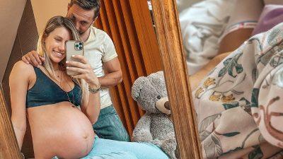 Cum arată Gabriela Prisăcariu după ce a născut. Soția lui Dani Oțil a avut curaj să se pozeze la doar o zi