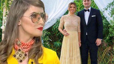 Iulia Albu, despre rochiile purtate de Simona Halep la cununia cu Toni Iuruc. Uimitor ce a spus designerul
