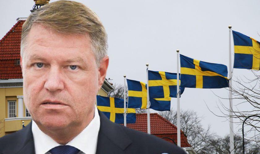Klaus Iohannis, luat la mișto de Ambasada Suediei. Clipul care a devenit viral în cel mai scurt timp