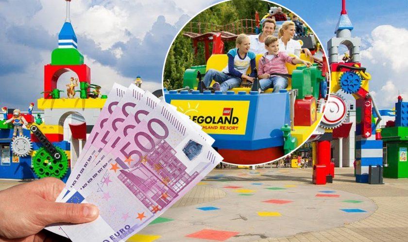 Ce preț are biletul de intrare în parcul Legoland din Germania