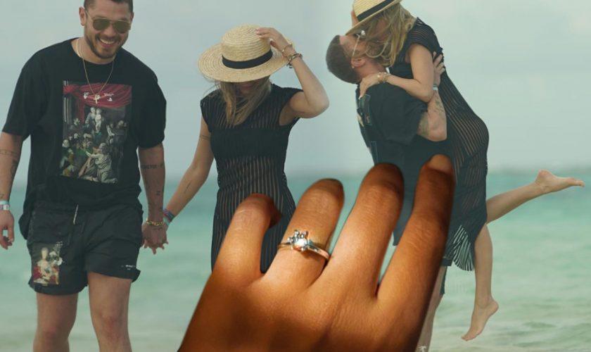 """Fosta vedetă Asia Express a fost cerută de soție! Prima poza cu inelul: """"Sunt o norocoasă"""""""