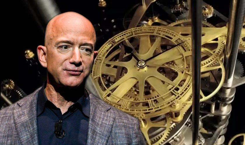 Secretul ceasului pe care Jeff Bezos îl construiește într-un munte. Ce va face la fiecare 1.000 de ani