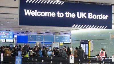 Ce pățesc românii când ajung la granițele UK în 2021. Veștile sunt dezolante