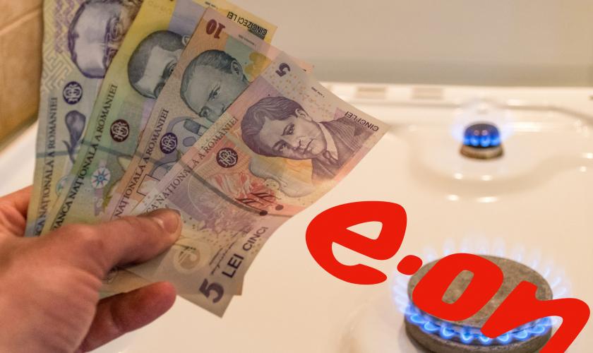 Cât se vor scumpi gazele pentru populația României. Ce se întâmplă la E.On