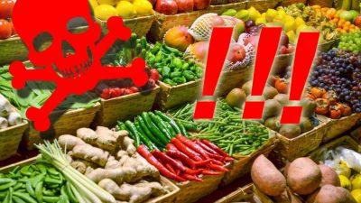 Alertă alimentară în România. Fructele și legumele care sunt pline de pesticide