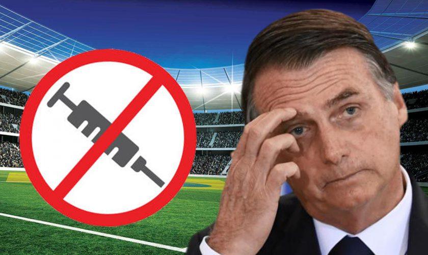 Președintele Braziliei, interzis pe stadion pentru că nu e vaccinat. Incredibil ce a urmat
