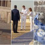 """Cum au putut să apară Klaus și Carmen Iohannis în Egipt. """"În România mor 500 de oameni pe zi"""" FOTO"""