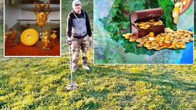 Comorile ascunse din România. Cum au fost descoperite tezaure fabuloase: aur, brățări și alte obiecte dacice
