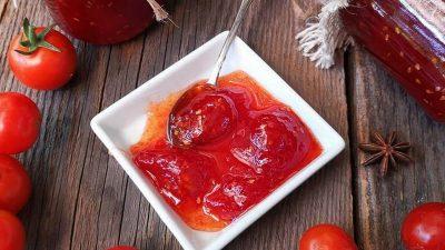 Cum faci dulceață de roșii, un produs inedit. Este cea mai simplă rețetă
