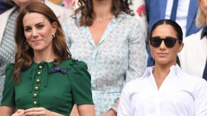 Lovitură imensă pentru Meghan Markle. Ce i-a dat Regina lui Kate Middleton la funeraliile Prințului Philip