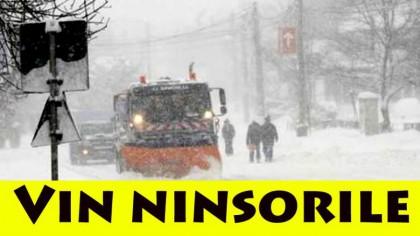 Iarna și-a intrat în drepturi! Cod galben de viscol în toată țara! Meteorologii de la ANM au emis mai multe avertizări