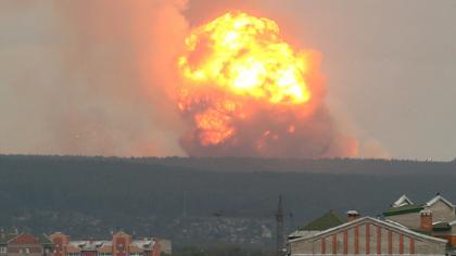 VIDEO. Șocul momentului. Explozie uriașă, sunt 16 răniți