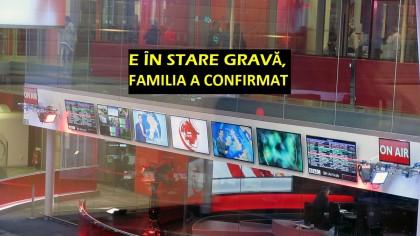 Un mare jurnalist are o boală cruntă! Lucrează la o televiziune-etalon. Alertă