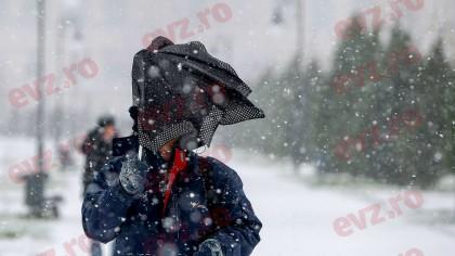 Iarna ne lovește crunt. ANM a declanșat alerta. Urmează ore neplăcute pentru români
