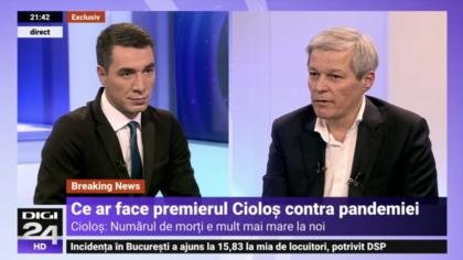 VIDEO zdrobitor! Dacian Cioloș, făcut de râs la Digi 24