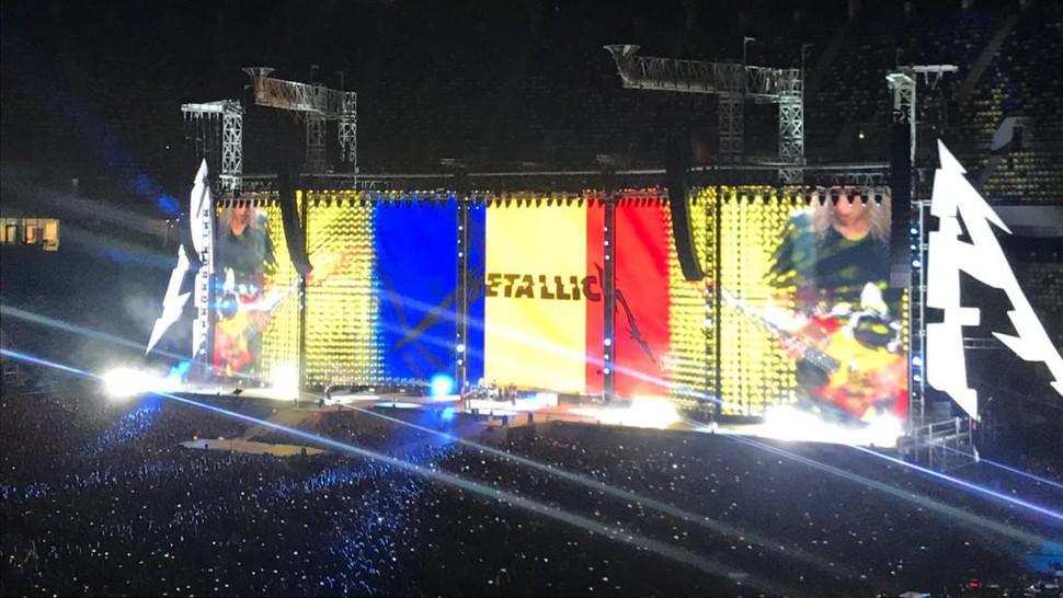 Gest superb făcut de trupa Metallica pentru România. Are legătură cu campania #NoiFacemUnSpital