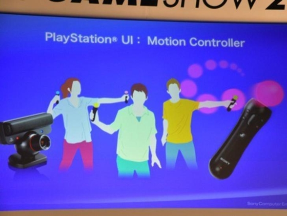 Sony Motion Controller