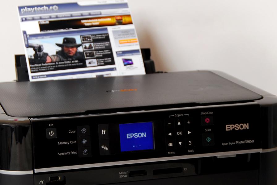 Epson, Epson PX650, Epson PX650 review, multifunctionale Epson, Epson PX650 software, Epson PX650 imprimare, Epson PX650 scanare, Epson PX650 copiere, EPSON Scan, EPSON Print CD, EPSON Easy Photo Print
