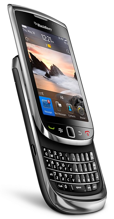 BlackBerry Torch 9800 va intra la Vodafone Romania