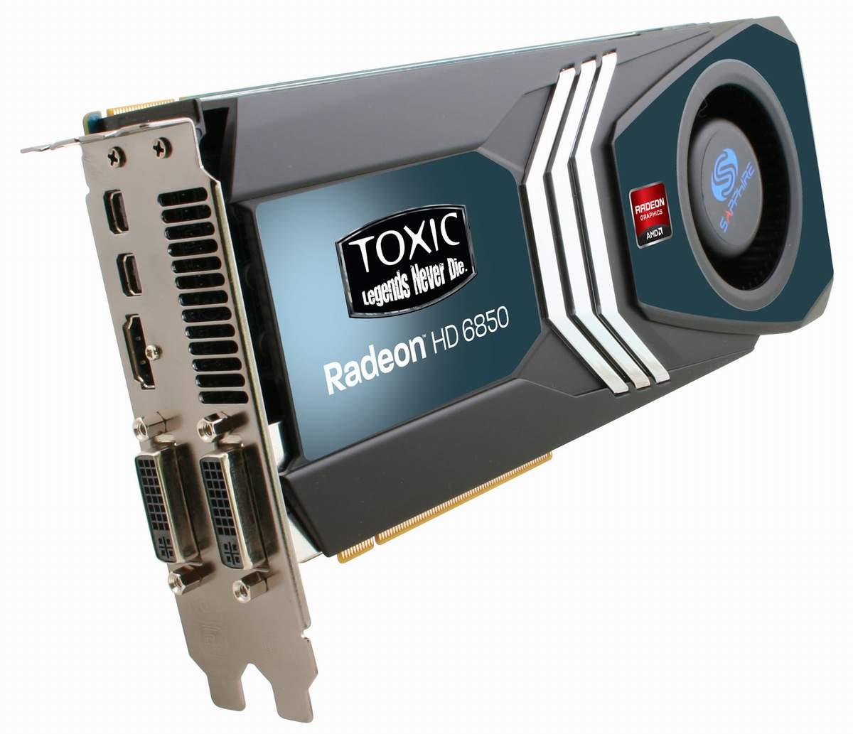 SAPPHIRE HD 6850 TOXIC Edition intareste seria HD 6800