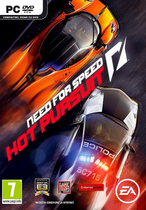 Need for Speed Hot Pursuit intra in magazine