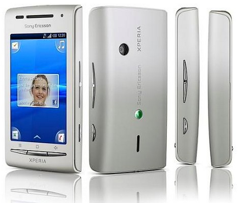 Xperia X8 intra pe Android 2.1