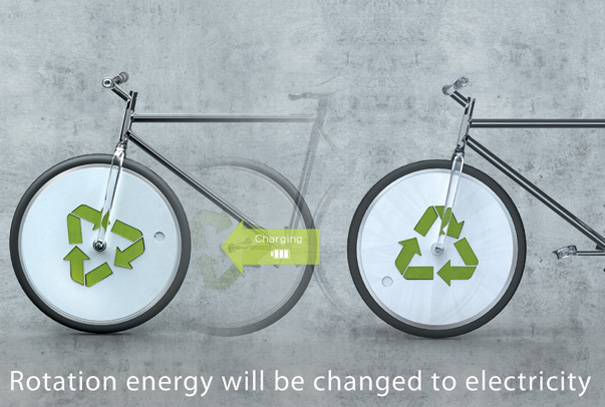 Bicicleta generator