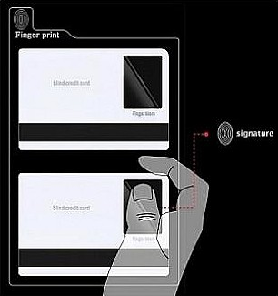 Card de credit pentru nevazatori