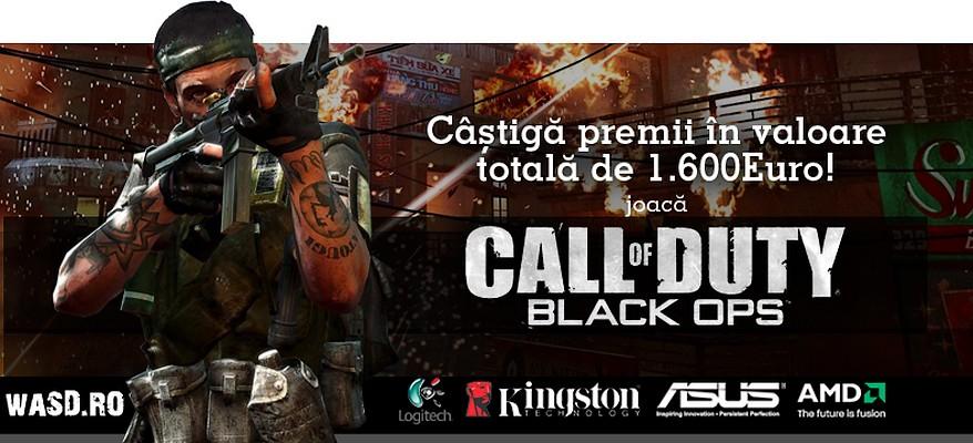 WASD.ro face competitie Black Ops cu premii de 1.600 euro