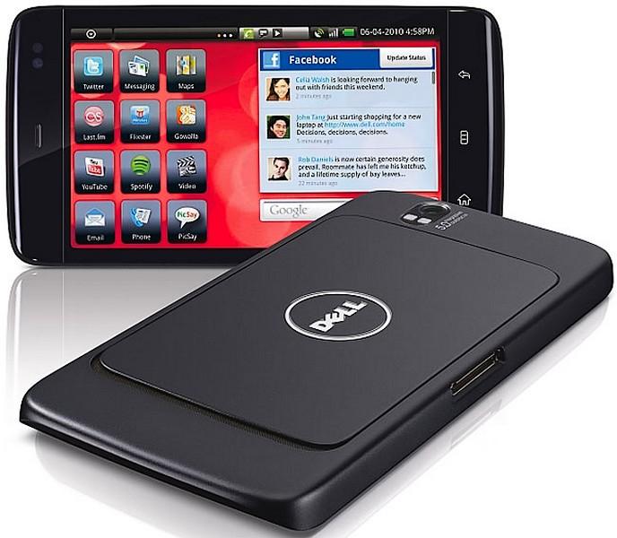 Dell Streak 7si Motorola Cliq 2, din ianuarie 2011