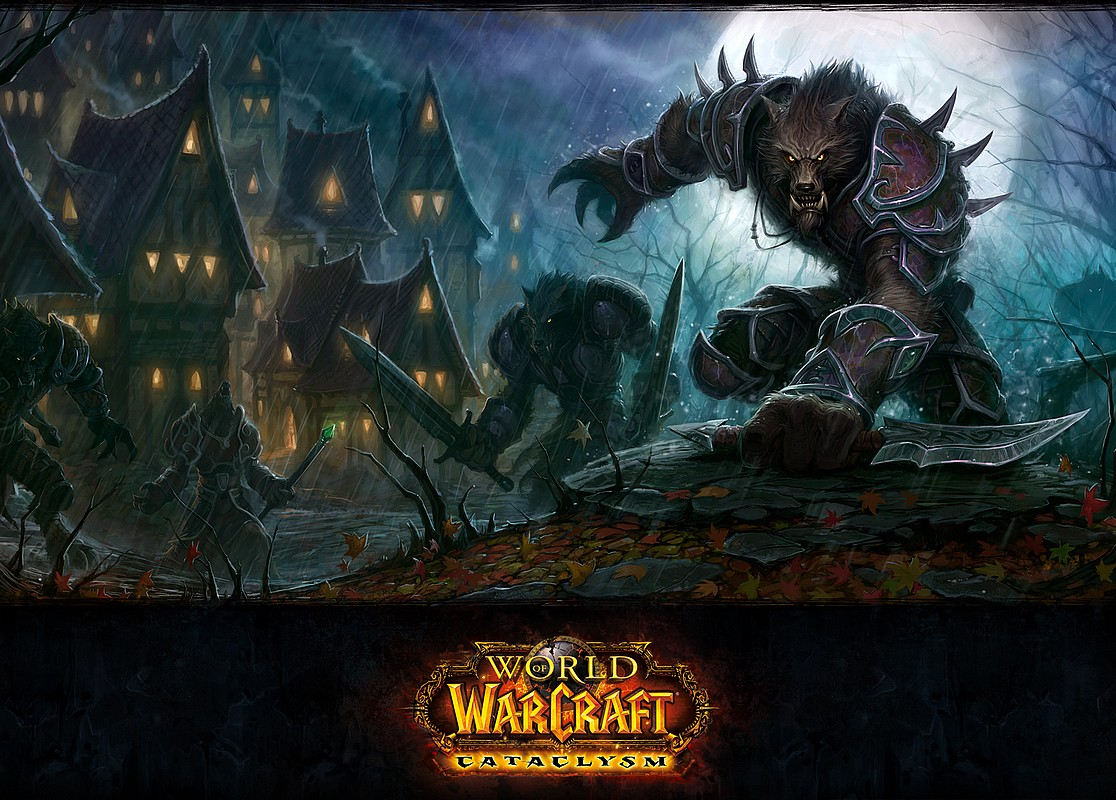 WOW Cataclysm in concurs!