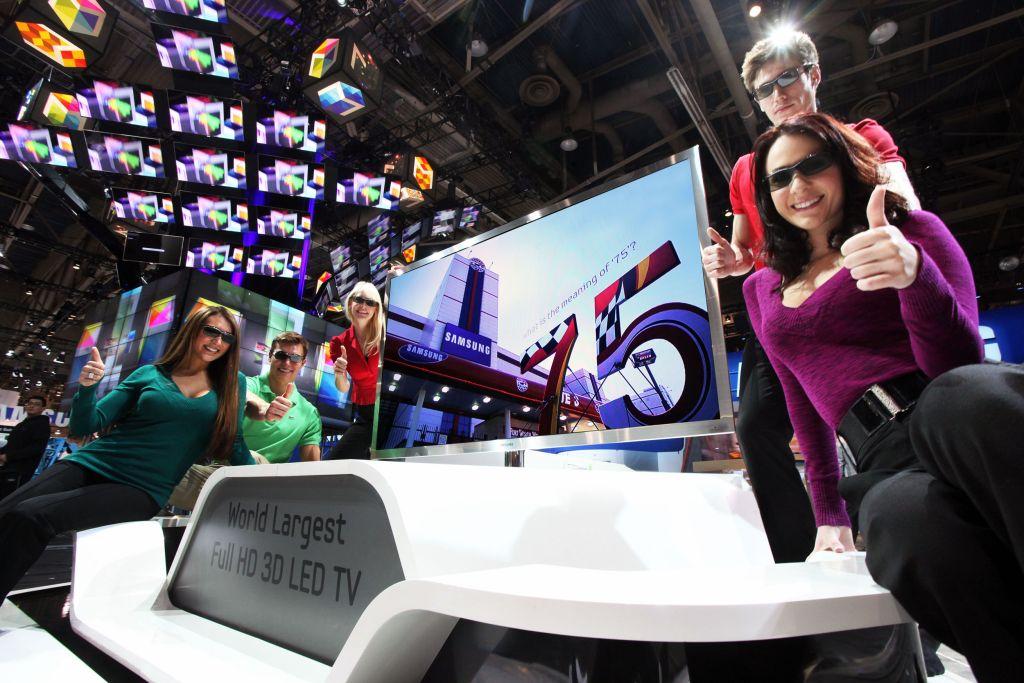 Vedetele Samsung la CES: televizoarele LED si plasmele