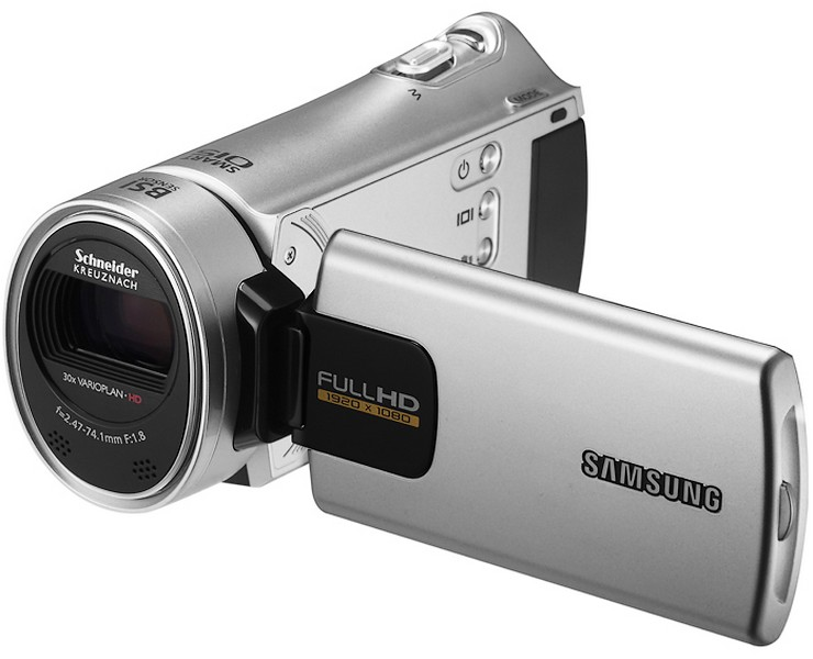 HMX-H300, noile camcordere HD Samsung