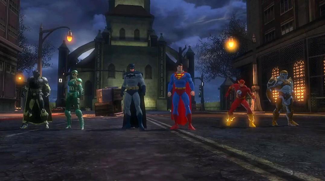 DC Universe a pornit Online