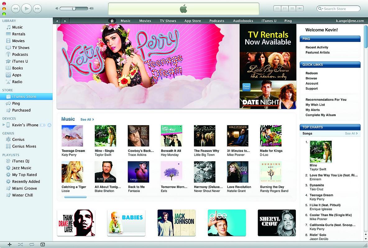 iTunes la 10 ani